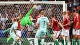 See Király's brilliant Save of the Season