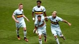 Relive Belgium's path to the last eight