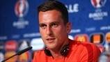 Milik on his 'idol' Ronaldo