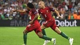 Renato Sanches joy at Portugal win