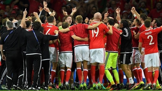 Wales in 'incredible position' after Belgium win