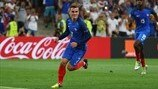 Griezmann double takes France through to final