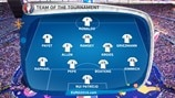 The UEFA EURO 2016 Team of the Tournament