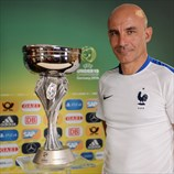 Winning coach: Ludovic Batelli