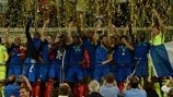 Imperious France overrun Italy for third title
