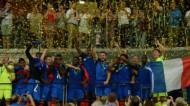 Imperious France take third Under-19 title