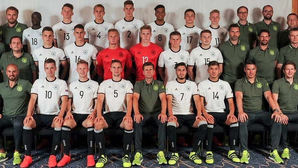 UEFA Under 19 Championship 2016 - Germany Headshots