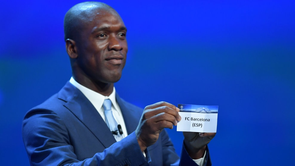 Clarence Seedorf (UEFA Champions League group stage draw)