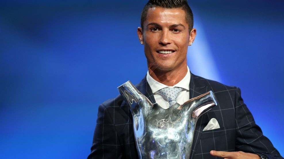 Image result for Cristiano Ronaldo Selected as UEFA Player Of Season for year 2016-2017