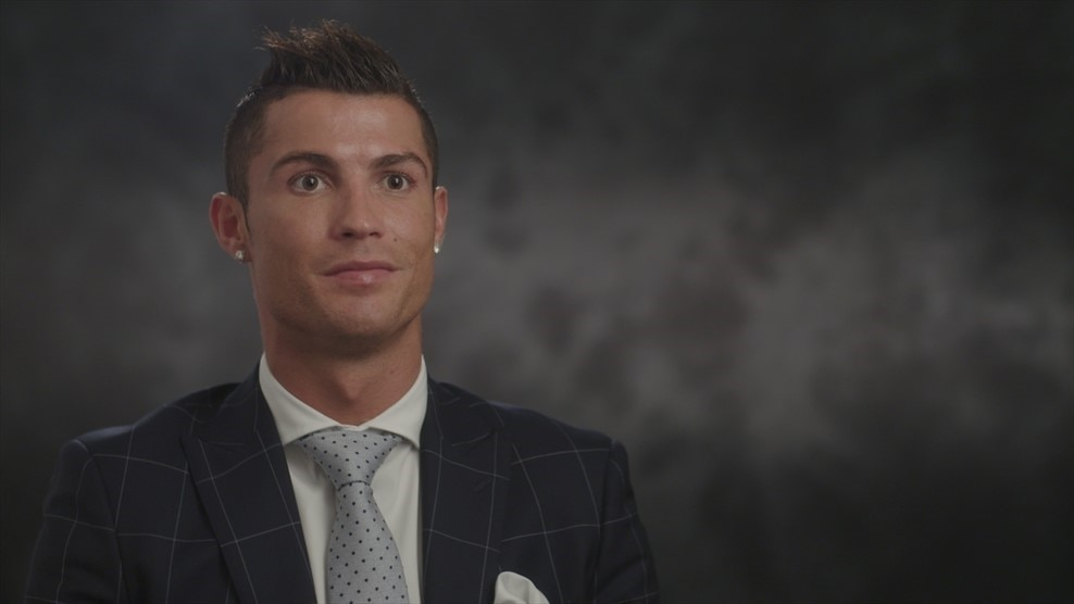 Real Madrid's Cristiano Ronaldo on Sporting match