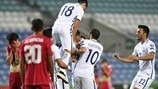 Highlights: Gibraltar 1-4 Greece