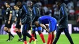 France players react