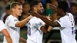 Mahrez double helps Leicester see off Club Brugge