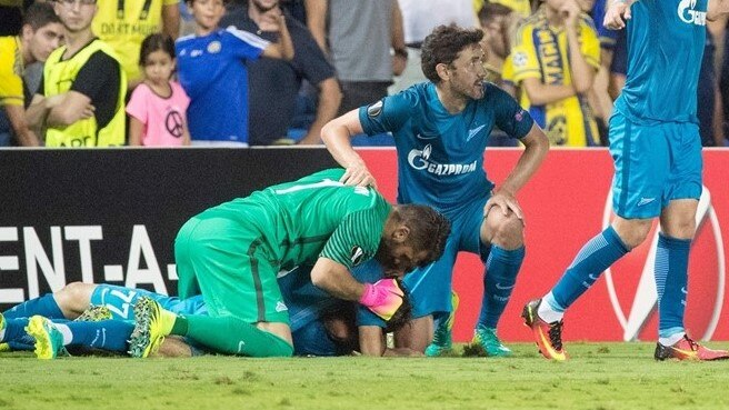 Zenit overturn three-goal deficit in Israel