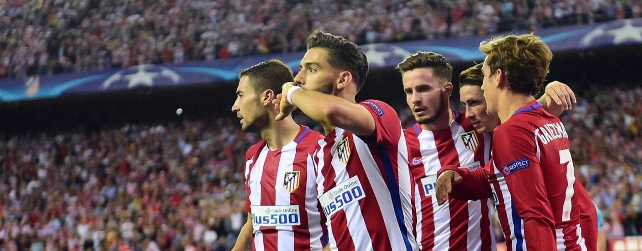 Two out of two for Atlético, Barcelona and Napoli