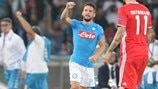 Mertens and Sarri suck up Napoli emotion