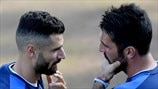 Antonio Candreva & Gianluigi Buffon (Italy)