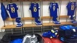 Bosnia and Herzegovina dressing room