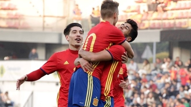 Spain do enough to make it to U21 finals