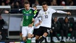 Steven Davis (Northern Ireland) & Mesut Özil (Germany)