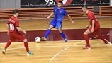 UEFA Futsal Cup preliminary, main round hosts