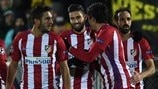 On-song Carrasco makes it three from three for Atlético
