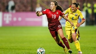 Portugal pip Romania in Women's EURO play-off