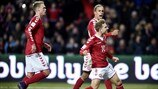 Highlights: Kazakhstan 1-3 Denmark