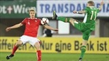 Martin Hinteregger (Austria) & James McClean (Republic of Ireland)