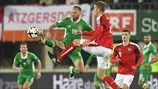 David Meyler (Republic of Ireland) & Marc Janko (Austria)