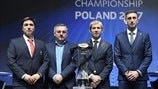 Group B coaches (UEFA European Under-21 Championship finals draw)