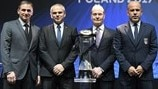 Group C coaches (UEFA European Under-21 Championship finals draw)