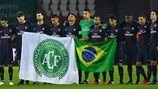 Tributes to Chapecoense