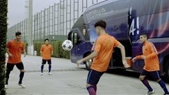 Watch Barcelona take the skills challenge