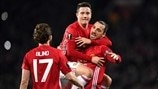 Ibrahimović hat-trick puts United in command