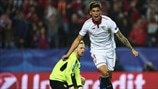 First-leg highlights: See Sevilla get narrow advantage over Leicester