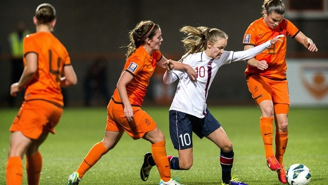 Netherlands v Norway: Women's EURO facts