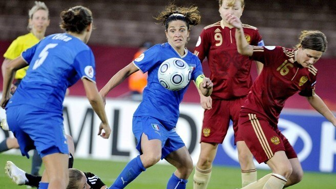 Italy v Russia: Women's EURO facts