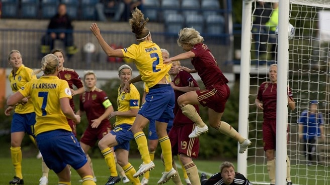 Sweden v Russia: Women's EURO facts