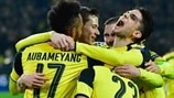Dortmund 4-0 Benfica: the story in photos