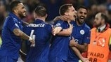 Leicester 2-0 Sevilla: the story in photos