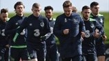 Republic of Ireland training