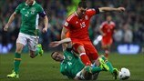 John O'Shea (Republic of Ireland) & Sam Vokes (Wales)