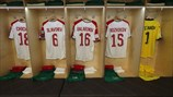 Bulgaria dressing room