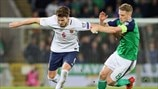 Håvard Nordtveit (Norway) & Steven Davis (Northern Ireland)