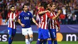 Atlético 1-0 Leicester: the story in photos