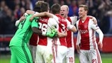 Ajax v Lyon: past meetings, stats and reaction
