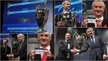 UEFA Champions League semi-final draw in photos