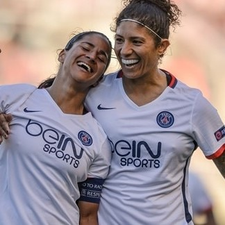 Shirley Cruz Traña & Cristiane (Paris Saint-Germain)