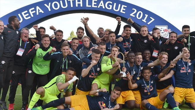 Salzburg succeed Chelsea as Youth League winners